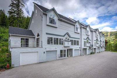Sandpoint Condo/Townhouse For Sale: 58 Ullr Drive #1