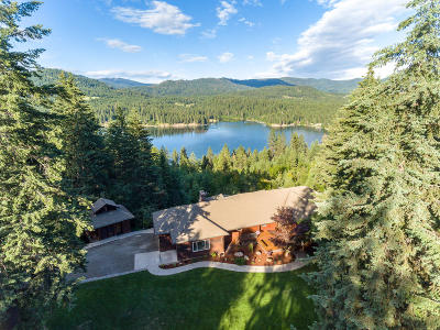 Hayden, Hayden Lake Single Family Home For Sale: 37371 E Hayden Lake Rd