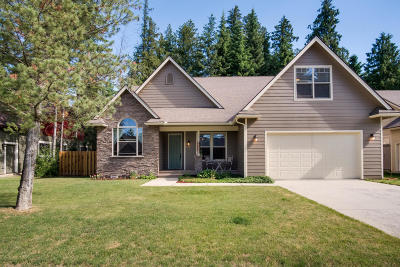 Sandpoint Single Family Home For Sale: 608 Jenny Ln
