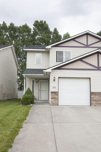 Post Falls ID Condo/Townhouse Sold: $174,900