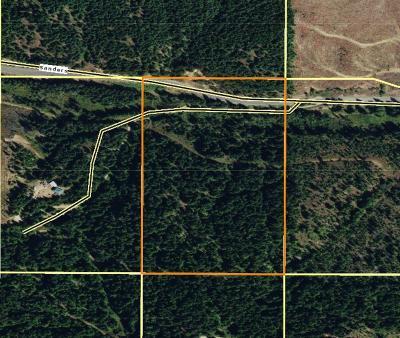 Benewah County Residential Lots & Land For Sale: 20 Acres Sanders Road