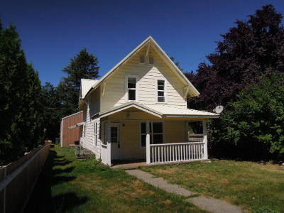 Coeur D'alene Single Family Home For Sale: 321 S 19th St