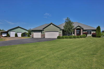 Post Falls Single Family Home For Sale: 7201 W Century Dr