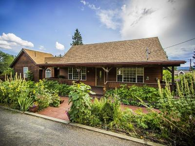 Bonners Ferry Single Family Home For Sale: 7437 Caribou St