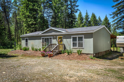 Rathdrum Mobile/Manufactured For Sale: 20518 N Hope Valley Rd