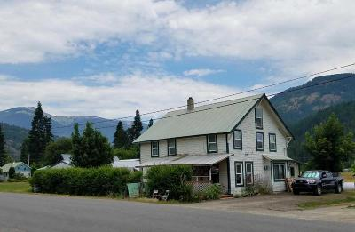 Clark Fork ID Single Family Home For Sale: $169,000