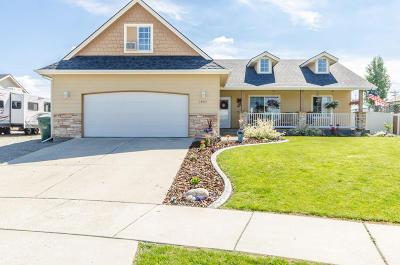 Rathdrum Single Family Home For Sale: 14617 N Nixon Loop