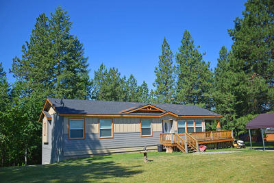 Bonners Ferry Single Family Home For Sale: 5920 Alfy Way