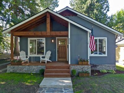 Coeur D'alene Single Family Home For Sale: 310 E Wallace Avenue