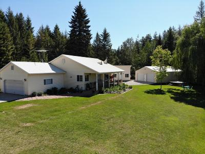 Sandpoint Single Family Home For Sale: 486732 N. Hwy 95