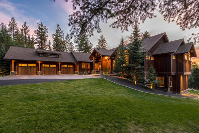 Coeur D'alene Single Family Home For Sale: 701 S Starlight Dr