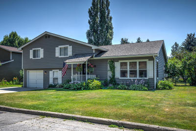 Sandpoint Single Family Home For Sale: 1721 Hickory St