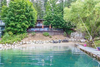 Hayden Single Family Home For Sale: 7324 E Revilo Point Rd