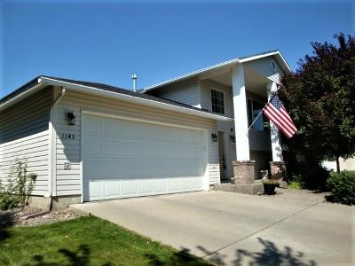 Post Falls Single Family Home For Sale: 1145 N Sugar Maple Trl