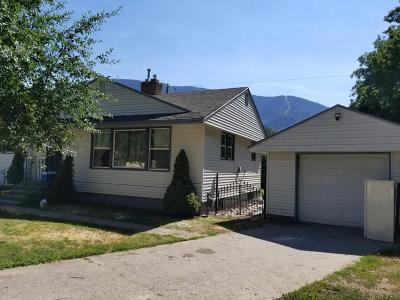 Shoshone County Single Family Home For Sale: 37 Engdahl Ave