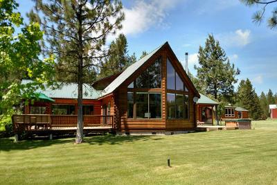 Blanchard Single Family Home For Sale: 758 McDonald Creek Rd