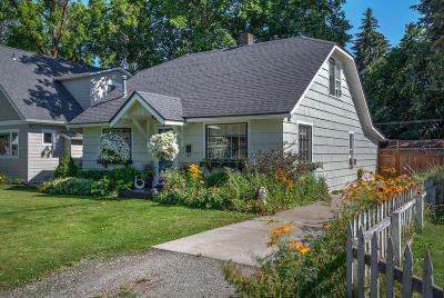 Coeur D'alene Single Family Home For Sale: 1412 E Garden Ave