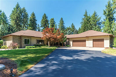 Coeur D'alene Single Family Home For Sale: 3959 S Brentwood Ln