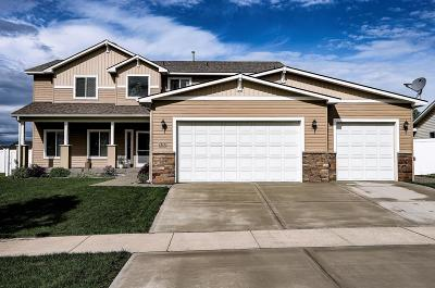Coeur D'alene Single Family Home For Sale: 7875 N Banning Ln
