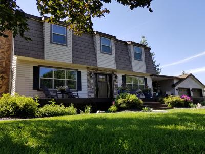 Hayden, Hayden Lake Single Family Home For Sale: 8975 N Chateaux Dr