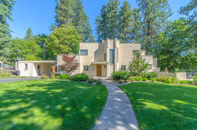Coeur D'alene Single Family Home For Sale: 917 E Foster Ave