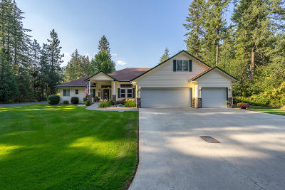 Rathdrum Single Family Home For Sale: 5447 W Broken Tee Rd