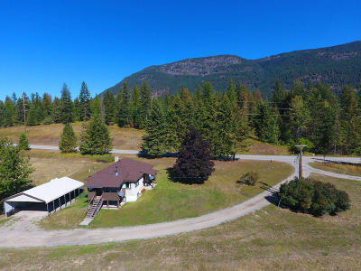 Bonners Ferry Single Family Home For Sale: 14 Gladdenfields Ln