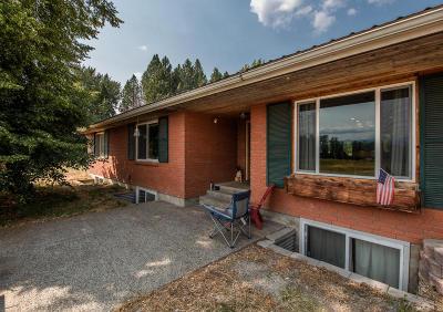 Sandpoint Single Family Home For Sale: 2760 N Kootenai Rd