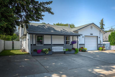 Coeur D'alene Single Family Home For Sale: 2615 N 11th St