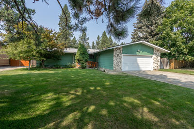 Coeur D'alene Single Family Home For Sale: 1909 E Pine Hill Ct