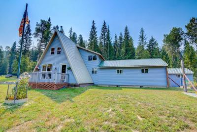Priest Lake, Priest River Single Family Home For Sale: 1170 Pup Paw