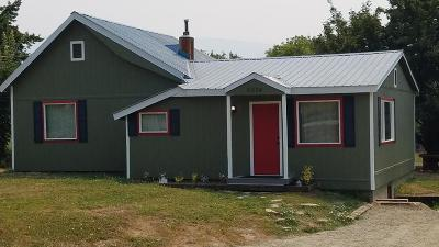 Bonners Ferry Single Family Home For Sale: 6674 Nez Perce