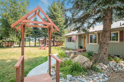 Sandpoint Single Family Home For Sale: 10966 Baldy Mountain Rd.