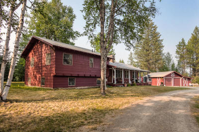 Priest Lake, Priest River Single Family Home For Sale: 6257 Hwy 57