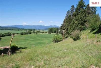 Bonners Ferry Residential Lots & Land For Sale: NNA District 2