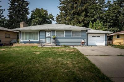 Coeur D'alene Single Family Home For Sale: 615 N 20th St