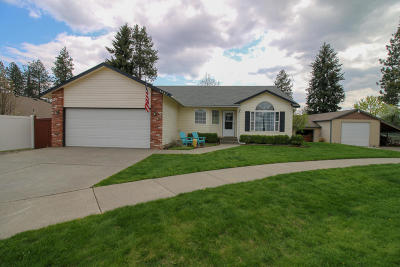 Coeur D'alene Single Family Home For Sale: 3567 N Shadow Ct