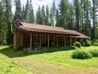 Priest River Single Family Home For Sale: 1829 Bear Paw Road