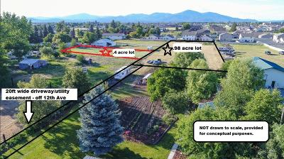 Hauser, Post Falls Residential Lots & Land For Sale: NKA E 12th Ave