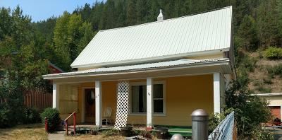 Kellogg Single Family Home For Sale: 410 Main Wardner