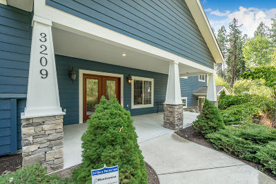 Coeur D'alene, Dalton Gardens Single Family Home For Sale: 3209 N Buckskin Rd