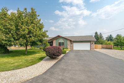 Hayden Single Family Home For Sale: 10966 N Reed Rd