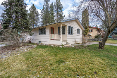 Coeur D'alene Single Family Home For Sale: 1701 E Satre Ave