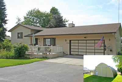 Coeur D'alene, Dalton Gardens Single Family Home For Sale: 5797 N Valley St