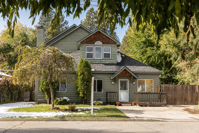 Coeur D'alene Single Family Home For Sale: 2811 N 10th Pl