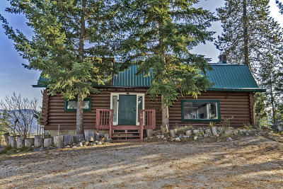 Sandpoint Single Family Home For Sale: 470 W Johnson Creek Rd