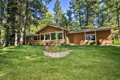 Sandpoint Single Family Home For Sale: 91 Oden Bay Dr