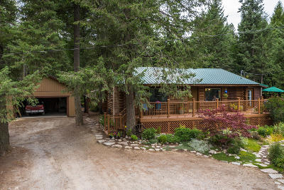 Athol Single Family Home For Sale: 1667 Kelso Lake Rd
