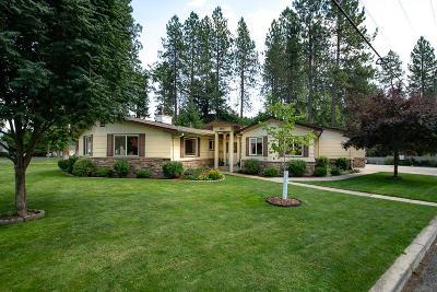 Coeur D'alene Single Family Home For Sale: 102 E Sherman Dr