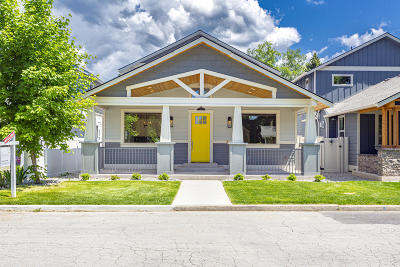 Coeur D'alene Single Family Home For Sale: 614 N 16th St